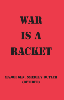 War is a Racket - front cover